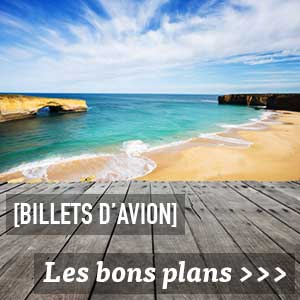 Bon plan billets d'avion en WHV