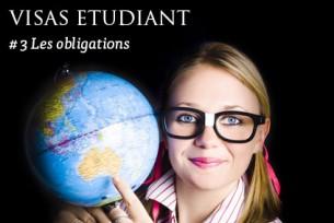 Les obligations du visa étudiant