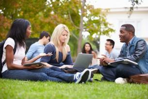 Etudiant, la vie sur le campus