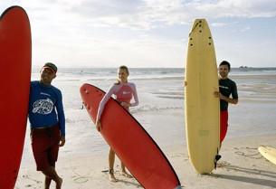 Le matériel de surf