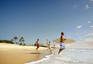 Déroulement d'une session surf