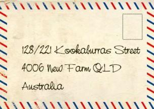Avoir une adresse australienne