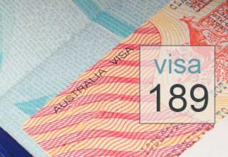 Visa de travail 189