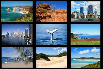 Destinations australiennes