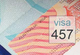 Visa de travail 457