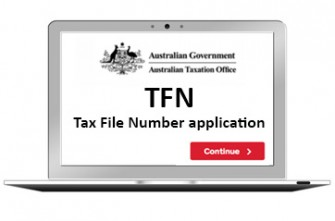 Faire sa demande de TFN en Australie